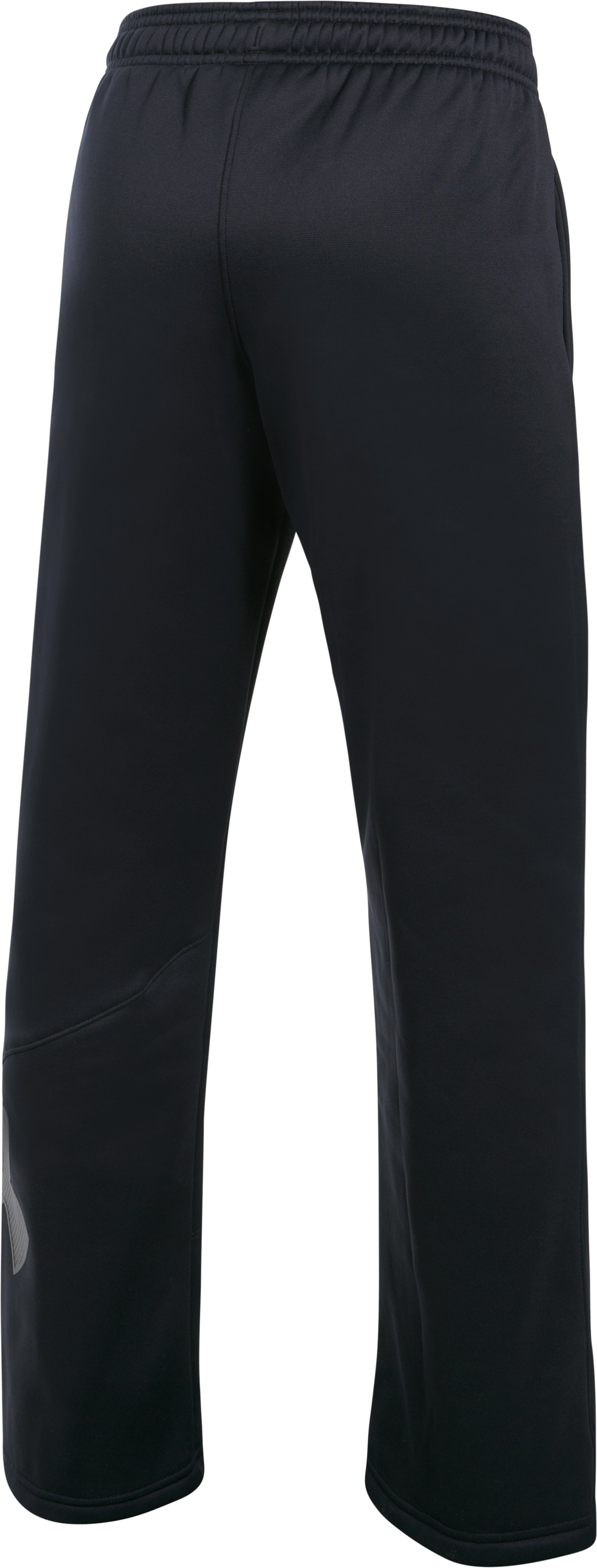 Boys' Armour Fleece® Big Logo Pants, Black , undefined
