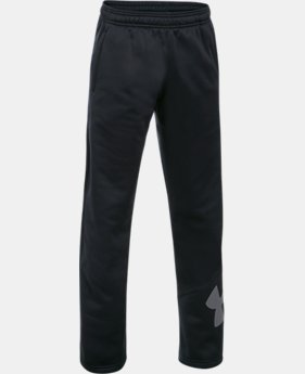 Boys' Armour Fleece® Big Logo Pants  2  Colors $49.99