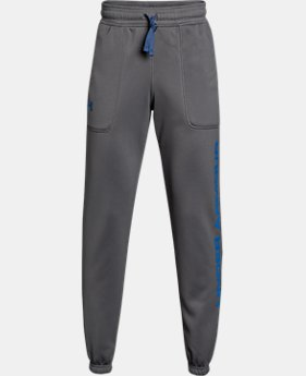 Boys' Armour Fleece® Branded Joggers   $41.99