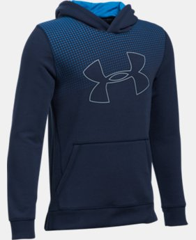 Boys' UA Threadborne™ Tilt Hoodie LIMITED TIME OFFER 1 Color $31.49