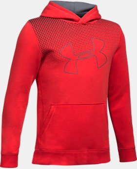 New to Outlet Boys' UA Threadborne™ Tilt Hoodie  1  Color Available $26.99 to $33.99