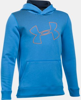 New to Outlet Boys' UA Threadborne™ Tilt Hoodie  4  Colors Available $33.99