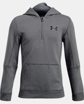 Boys' UA Threadborne™ Ridge Hoodie LIMITED TIME OFFER  $38.49
