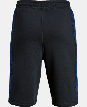 Boys' UA Stretch Fleece Shorts LIMITED TIME OFFER 1 Color $27.99
