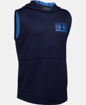Boys' UA Train to Game Sleeveless Hoodie  1 Color $44.99