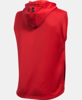 Boys' UA Train to Game Sleeveless Hoodie  1 Color $39.99