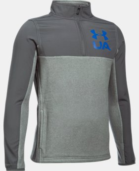 PRO PICK Boys' UA Phenom ¼ Zip  1 Color $54.99