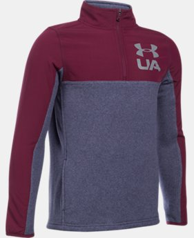 Boys' UA Phenom ¼ Zip LIMITED TIME ONLY 5  Colors Available $45.49