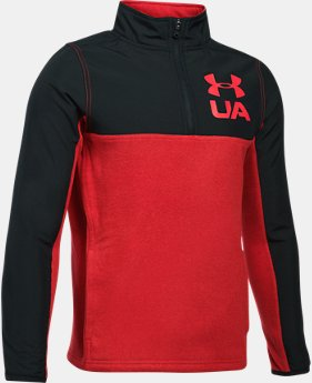 Boys' UA Phenom ¼ Zip  5  Colors Available $32.99 to $41.24