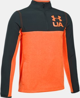 Boys' UA Phenom ¼ Zip  1  Color Available $32.99 to $41.99