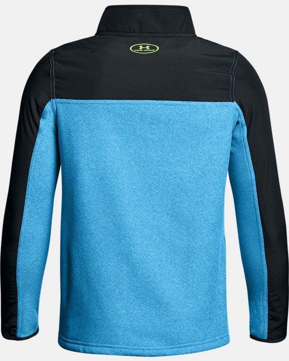 Boys' UA Phenom ¼ Zip, Blue, pdpMainDesktop image number 1