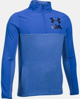 Boys' UA Phenom ¼ Zip  3 Colors $54.99