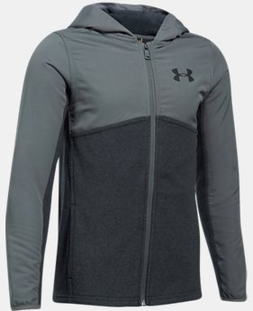 Boys' UA Phenom Full Zip Hoodie  4 Colors $74.99
