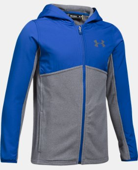 Boys' UA Phenom Full Zip Hoodie LIMITED TIME OFFER 4 Colors $52.49