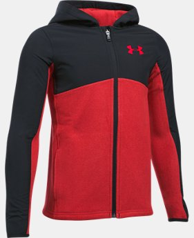 Boys' UA Phenom Full Zip Hoodie LIMITED TIME OFFER 1 Color $45.49