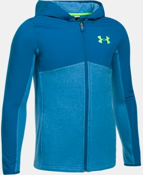 New to Outlet Boys' UA Phenom Full Zip Hoodie LIMITED TIME OFFER 1 Color $45.49