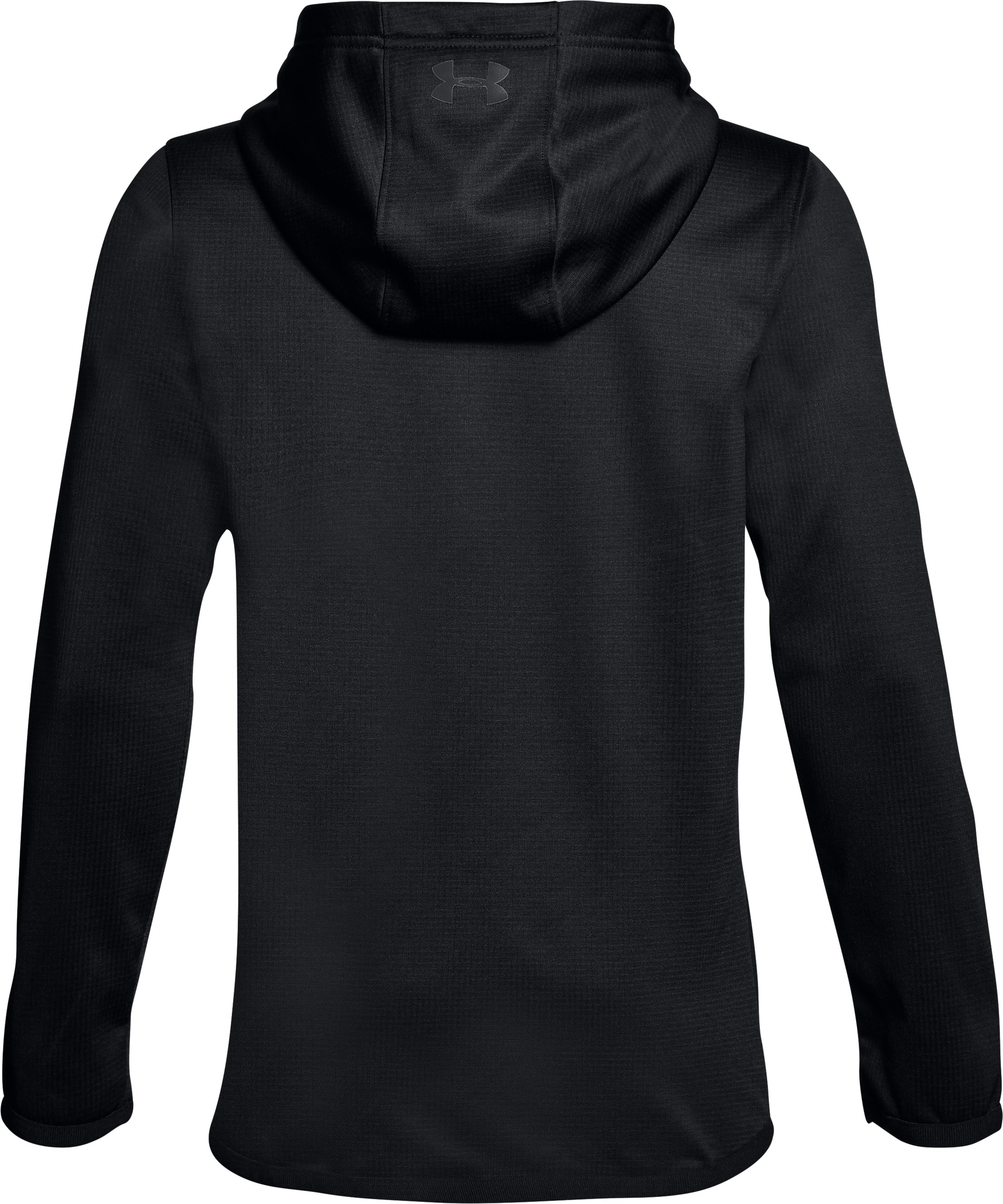 Boys' ColdGear® Reactor Hoodie, ANTHRACITE, undefined