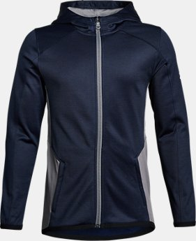 New Arrival  Boys' ColdGear® Reactor Full Zip  4 Colors $79.99