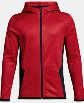 Boys' ColdGear® Reactor Full Zip  1 Color $52.49