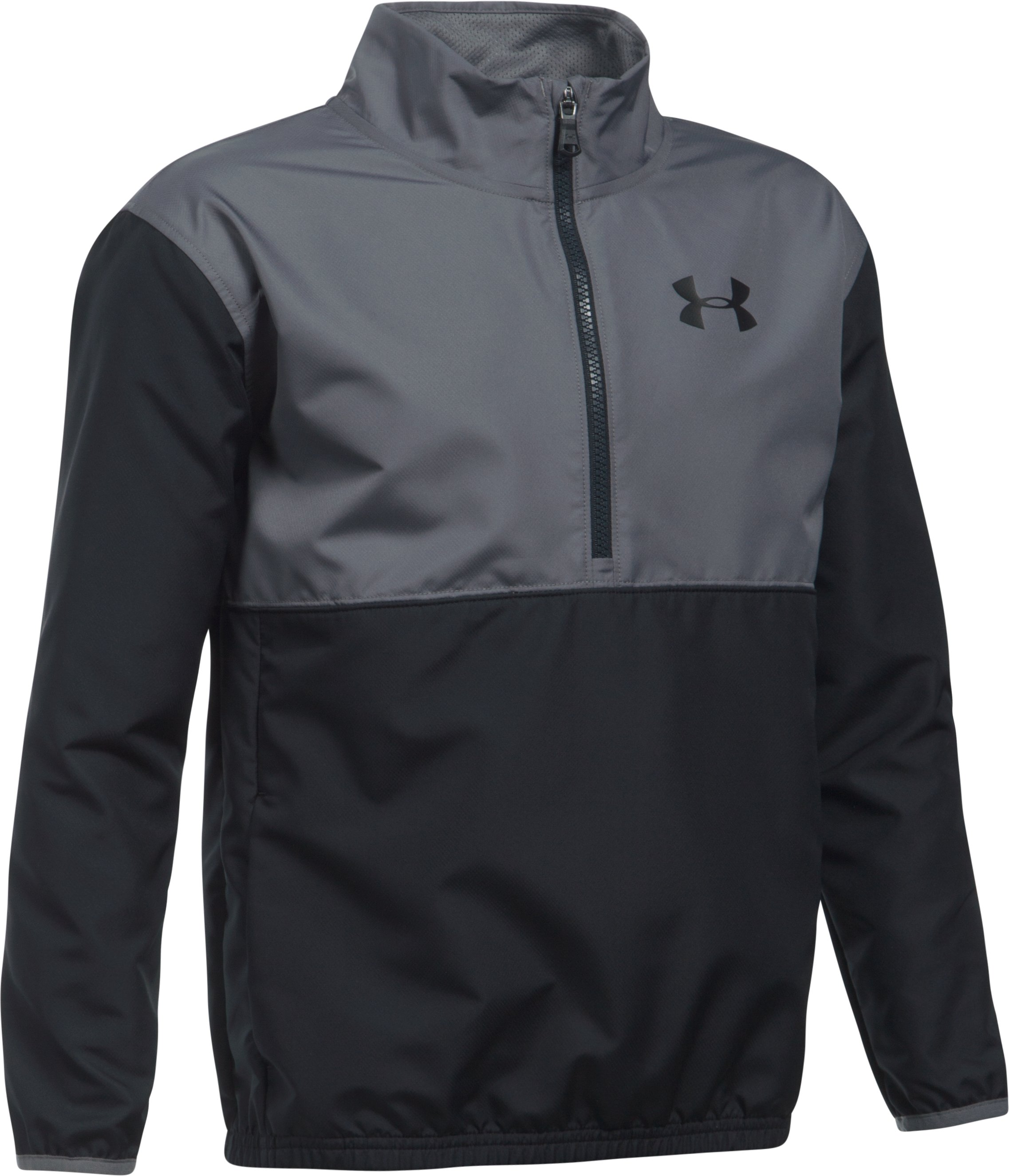 Boys' UA Train To Game Jacket, Black , undefined