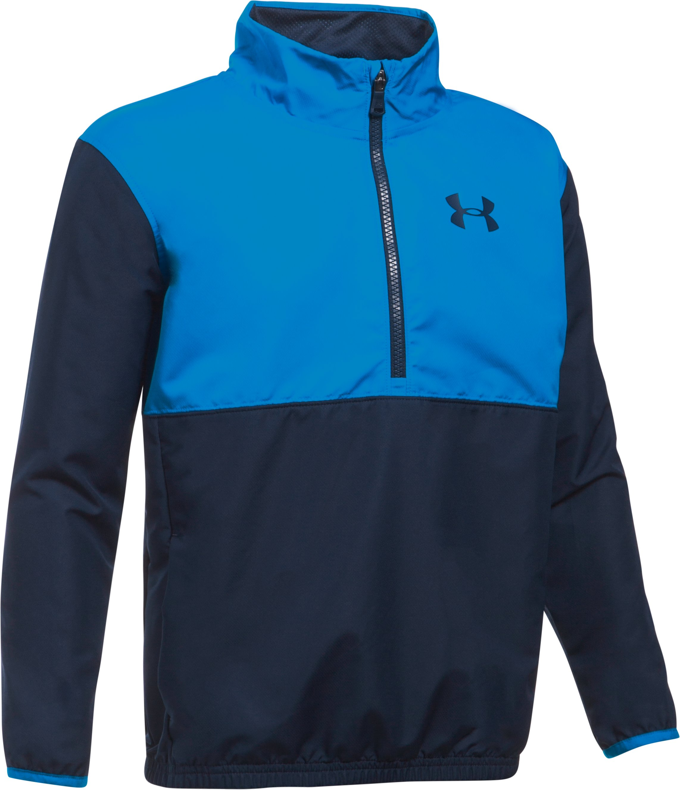 Boys' UA Train To Game Jacket, Midnight Navy, undefined