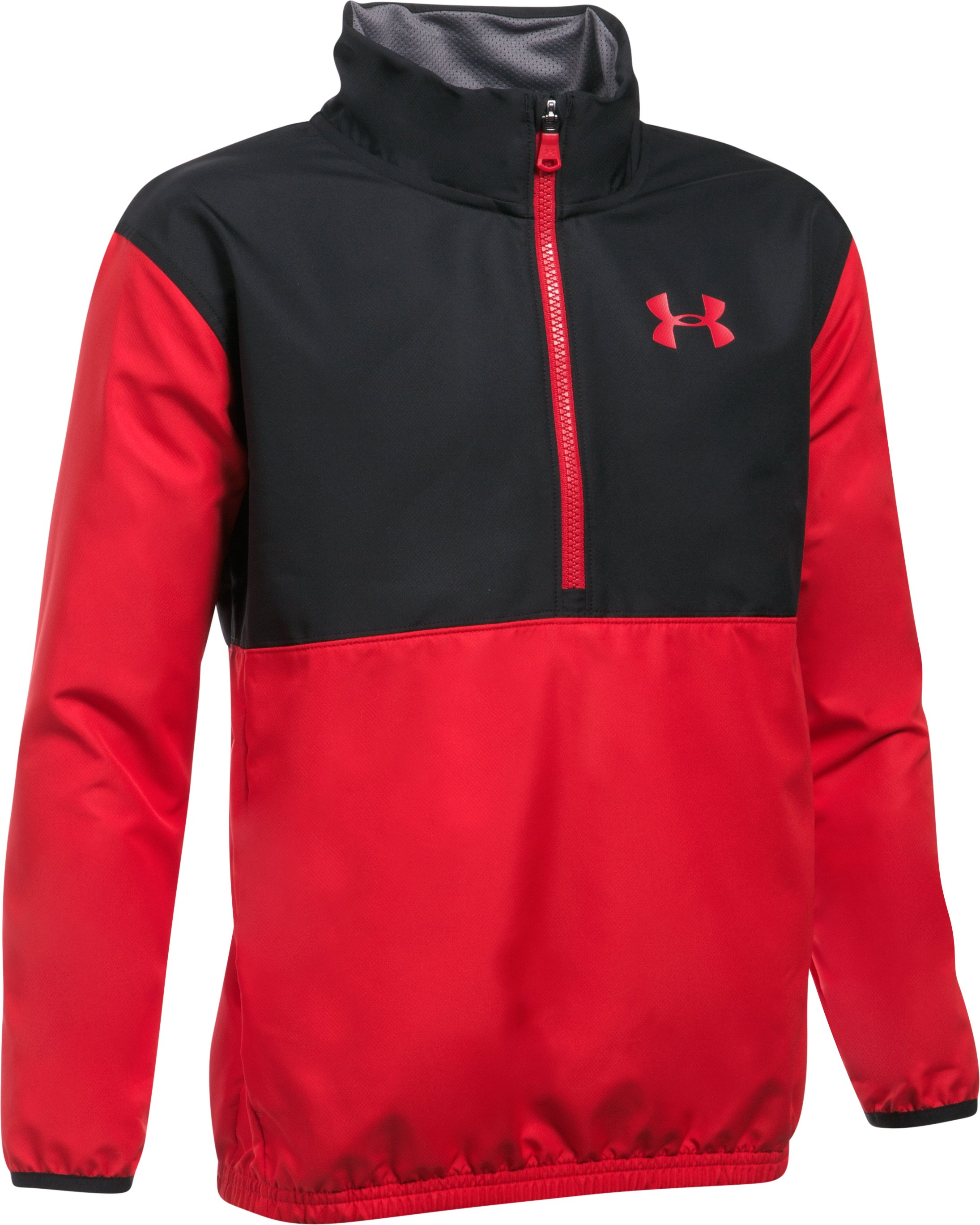 Boys' UA Train To Game Jacket, Red, undefined