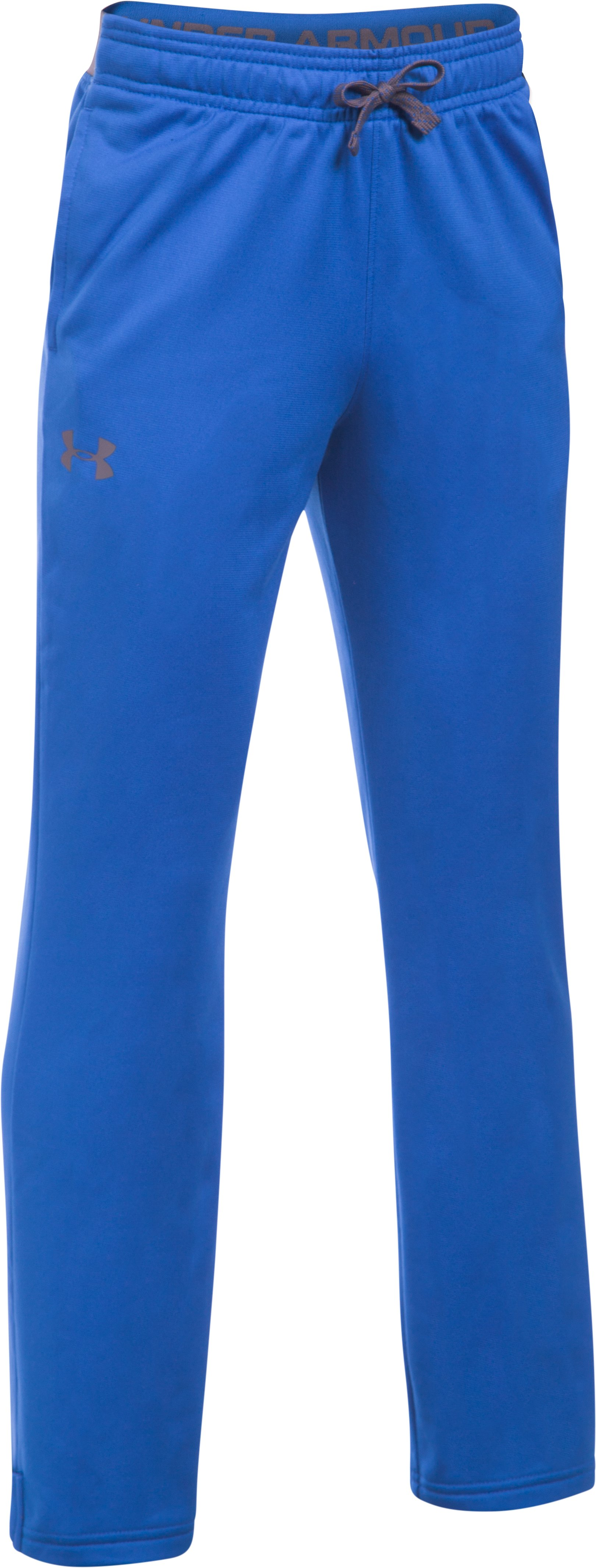 Boys' UA Brawler Slim Pants, ULTRA BLUE