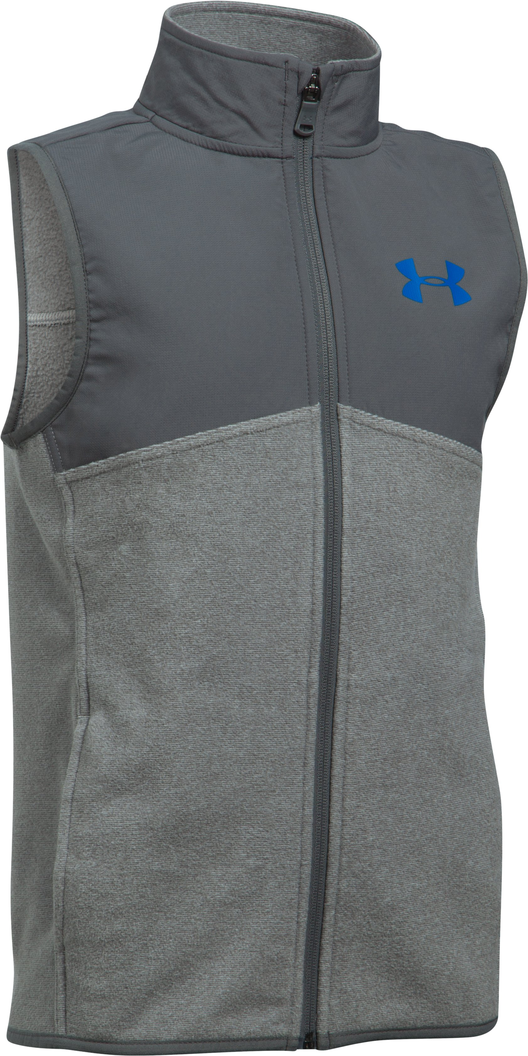Boys' UA Phenom Vest, Graphite,