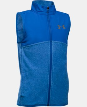 New to Outlet Boys' UA Phenom Vest LIMITED TIME OFFER 1 Color $34.99