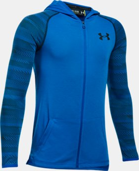 Boys' UA Threadborne™ Full Zip Hoodie  5 Colors $39.99