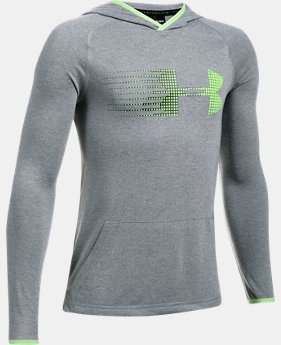 Boys' UA Threadborne™ Hoodie LIMITED TIME OFFER 4 Colors $27.99
