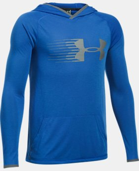 Boys' UA Threadborne™ Hoodie  1 Color $39.99
