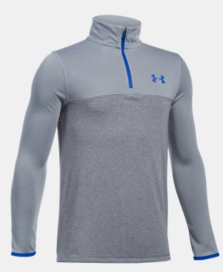 Boys' UA Threadborne 1/4 Zip