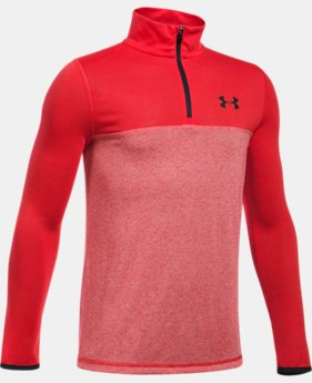 New Arrival  Boys' UA Threadborne™ ¼ Zip  1 Color $39.99