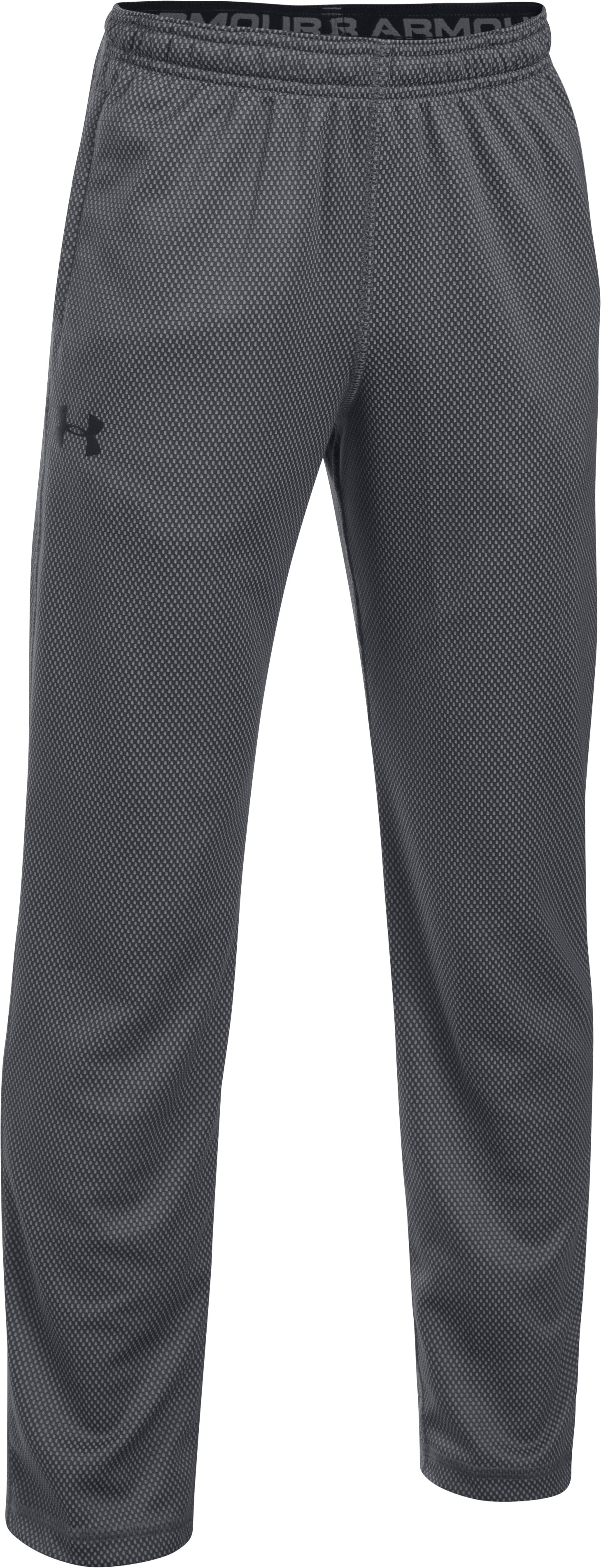 Boys' UA Tech™ Textured Pants, Graphite