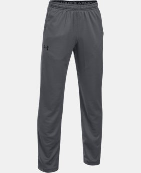Boys' UA Tech™ Textured Pants  4 Colors $34.99