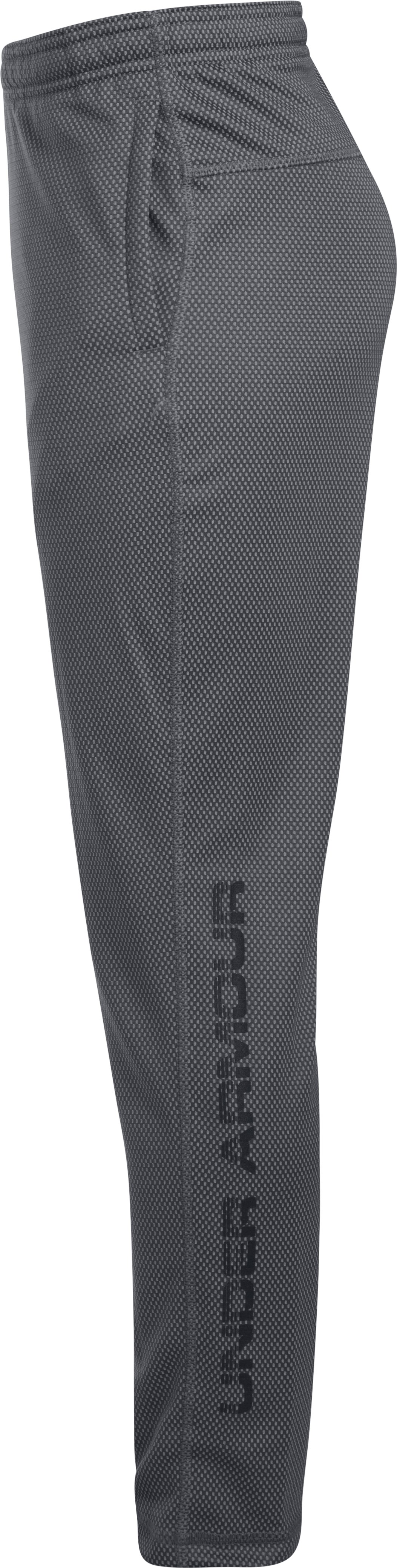Boys' UA Tech™ Textured Pants, Graphite,