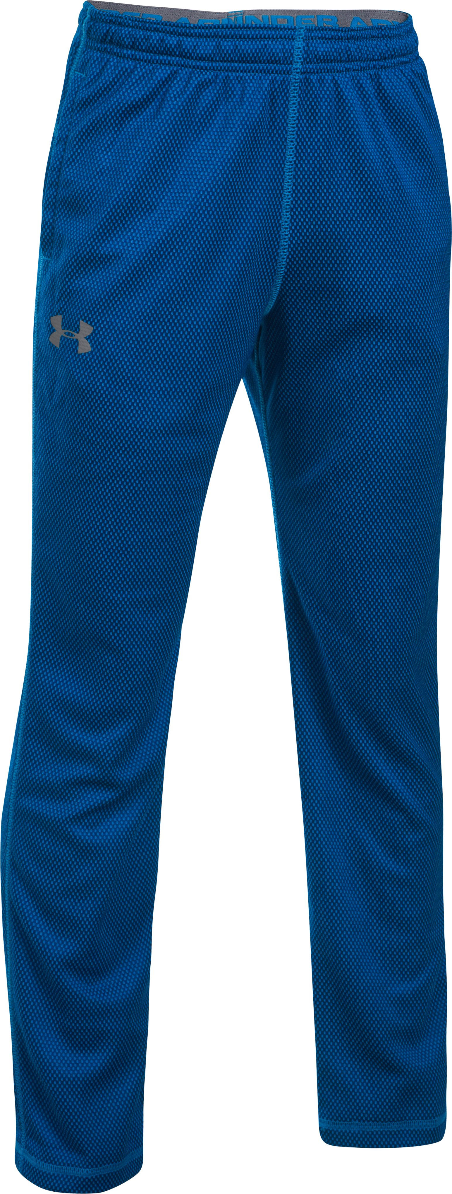 Boys' UA Tech™ Textured Pants, ULTRA BLUE,