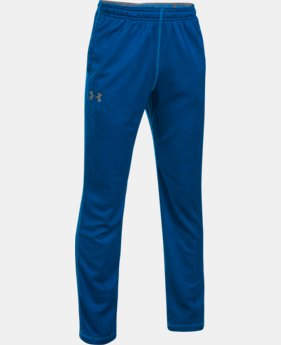 Boys' UA Tech™ Textured Pants  4  Colors $29.99