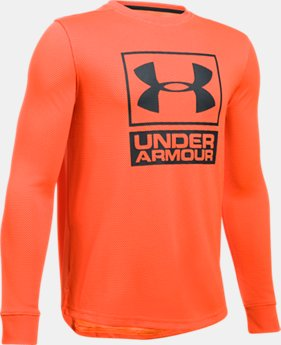 Boys' UA Tech™ Textured Crew  1 Color $17.99 to $22.99