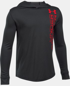Boys' UA Tech™ Textured Hoodie  1 Color $39.99
