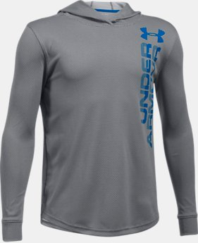 Boys' UA Tech™ Textured Hoodie  2 Colors $39.99