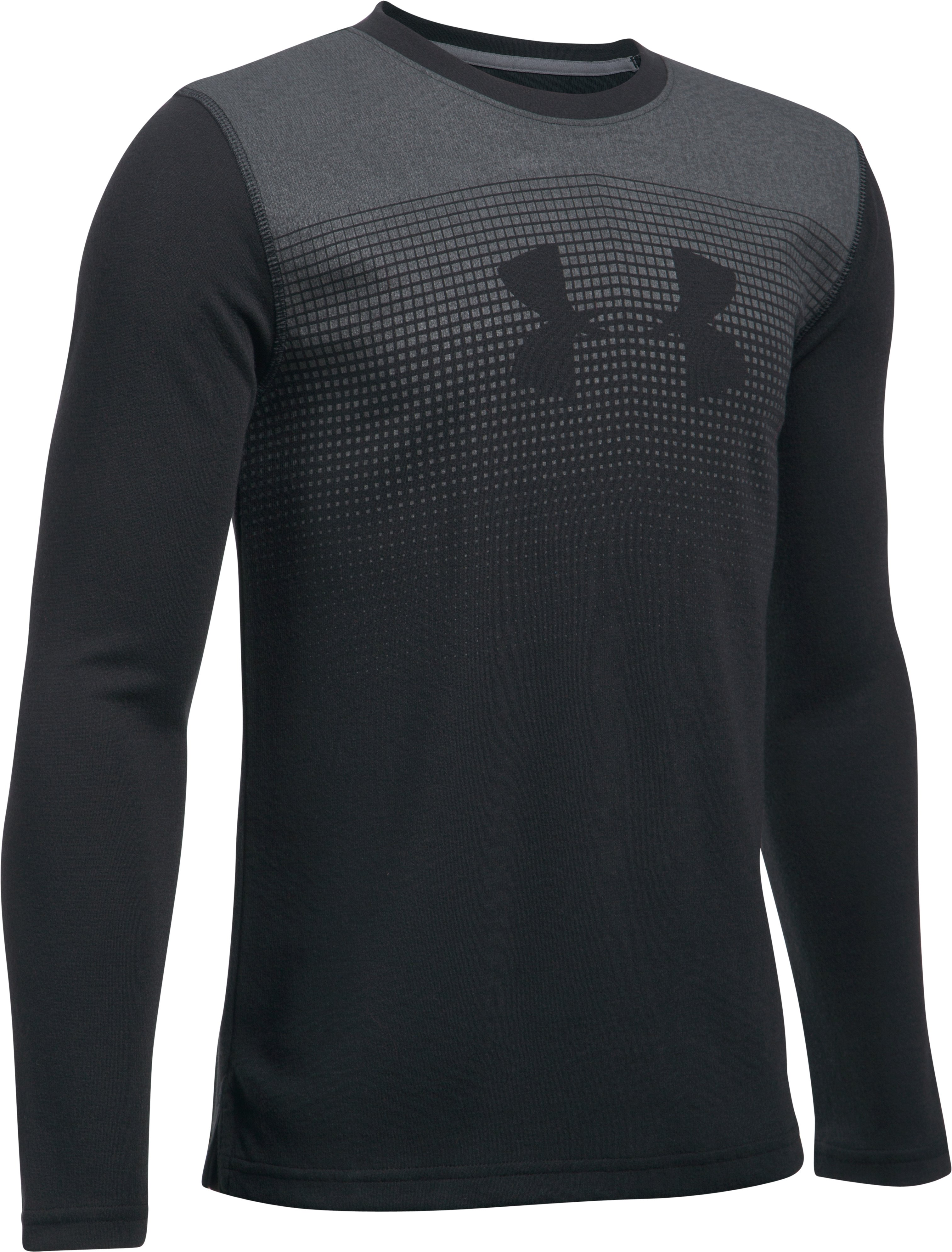 Boys' ColdGear® Infrared Long Sleeve, Black
