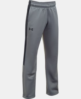 Boys' UA Storm Armour® Fleece Pants LIMITED TIME OFFER 6 Colors $33.32