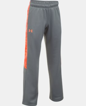 Boys' UA Storm Armour® Fleece Pants LIMITED TIME OFFER 4 Colors $29.99