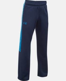 Boys' UA Storm Armour® Fleece Pants LIMITED TIME OFFER 1 Color $29.99