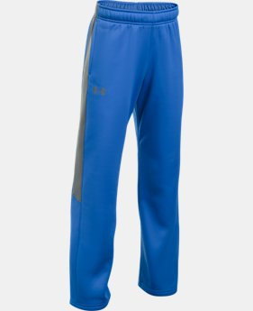 Boys' UA Storm Armour Fleece® Pants  4 Colors $49.99