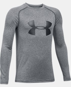 Boys' UA Big Logo Long Sleeve T-Shirt  8 Colors $29.99
