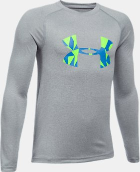 Boys' UA Big Logo Long Sleeve T-Shirt  4 Colors $29.99
