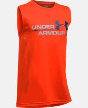 New Arrival Boys' UA Double Header Tank  1 Color $19.99